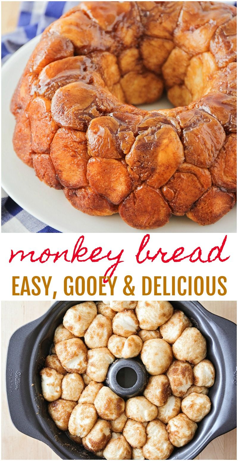 Easy Monkey Bread Recipe | Lil' Luna