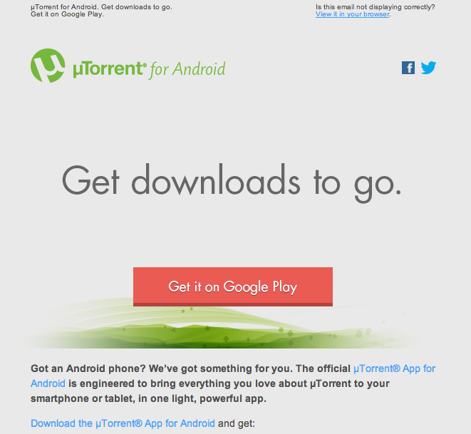 uTorrent for Android | New App in Tech