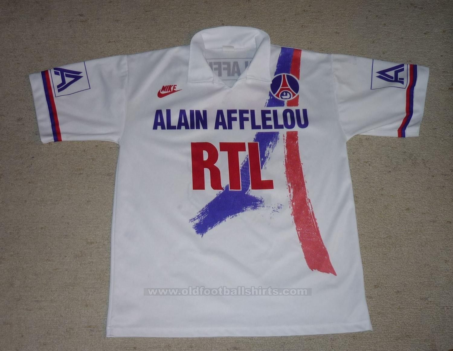 4f69ef68a2828 Paris Saint-Germain football shirt 1990 - 1991