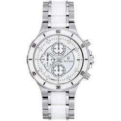 Ben Moss Jewellers Bulova 98P125, Ladies' Amboise, Stainless Steel Diamonds Watch