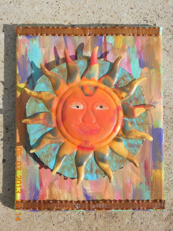 Sun Catcher Canvas by SindysCraftsnThings on Etsy, $20.00