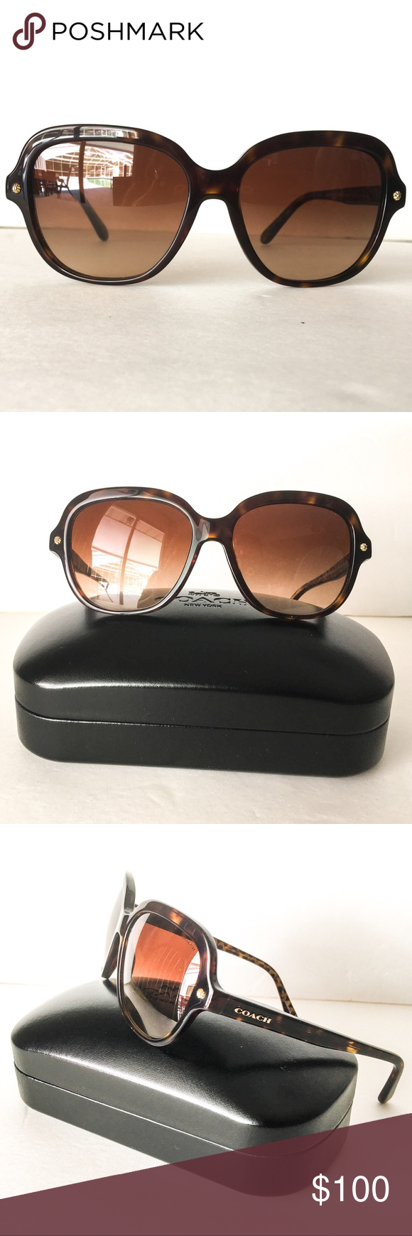 459ebe61116 Brand New Coach Sunglasses 😎 Look your best everyday with these ultra-chic  Coach