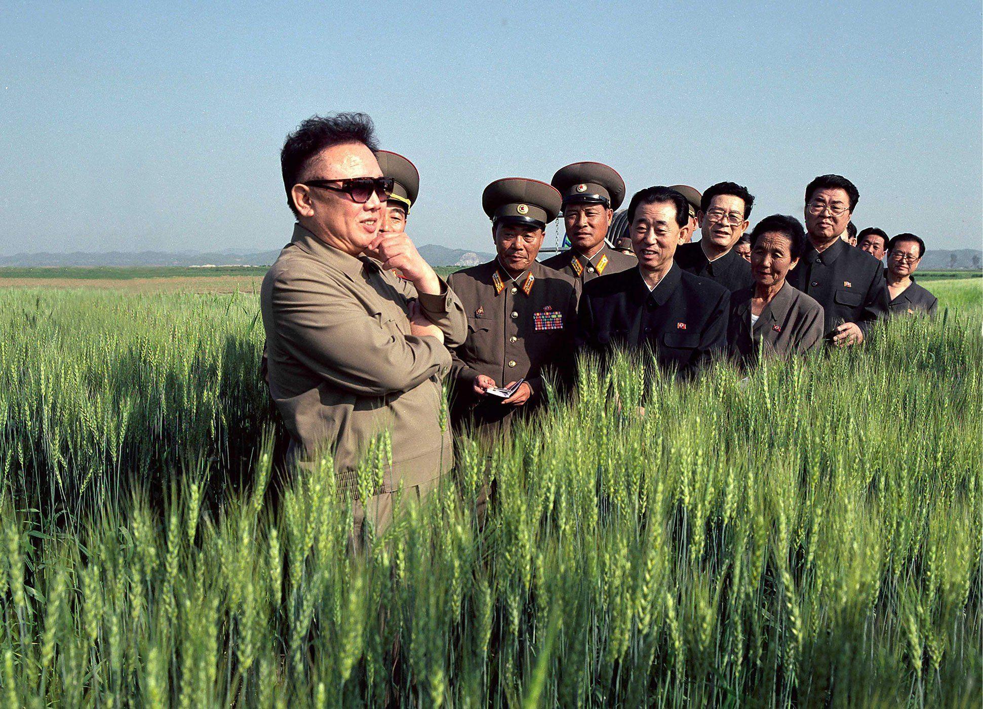 A Propaganda Picture Of North Korea S Reclusive Leader Kim