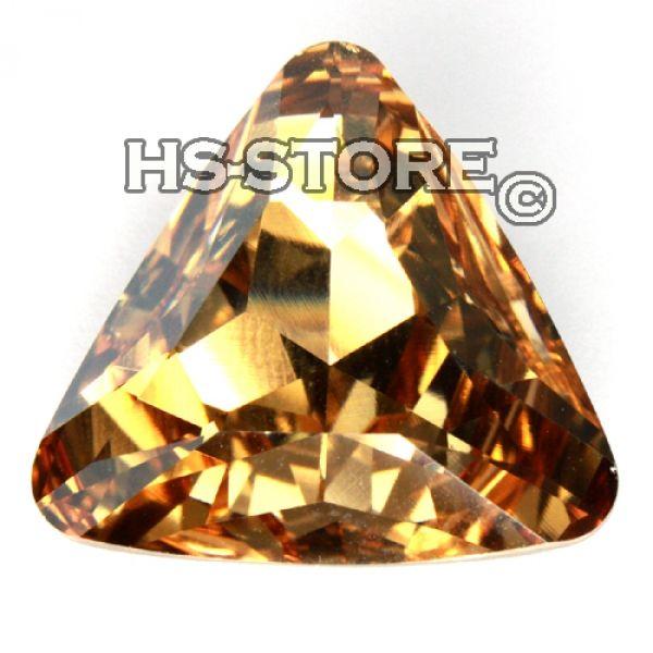 Swarovski 4727 Dreieck 23mm Golden Shadow 1 Stück