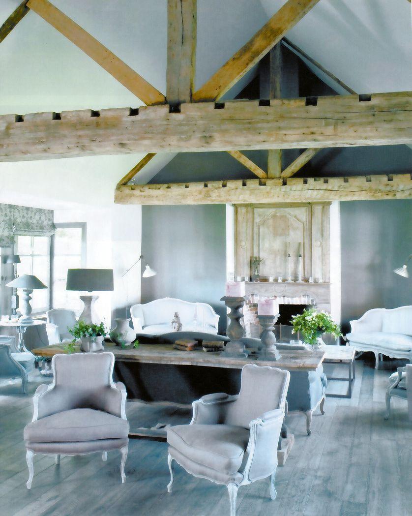Seating Arrangement Gris Gustavien Salon Cosy, Antique Decor, Nooks, Living  Spaces, Belgium