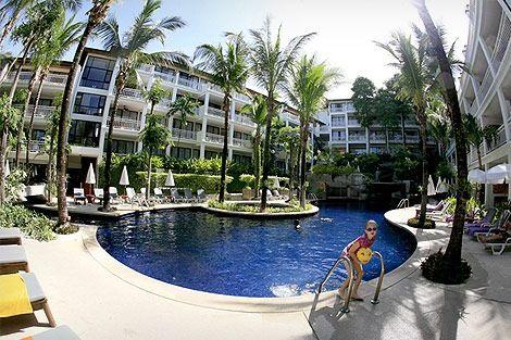 Sunset Beach Resort In Phuket Thailand Sunset Beach Resort Phuket Resorts Thailand Holiday