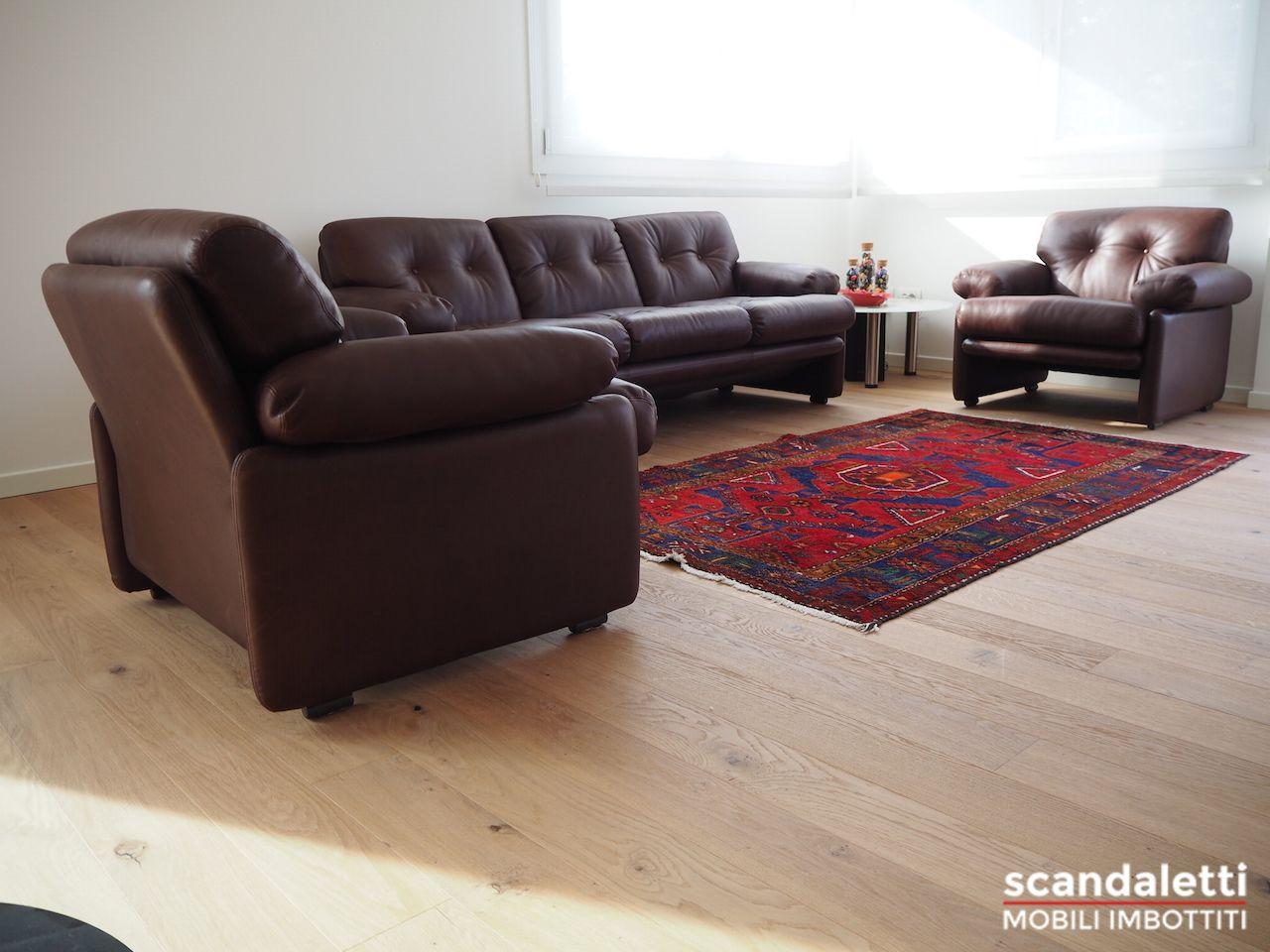 Restauro e rifacimento di divano e poltrona Coronado di B&B ...