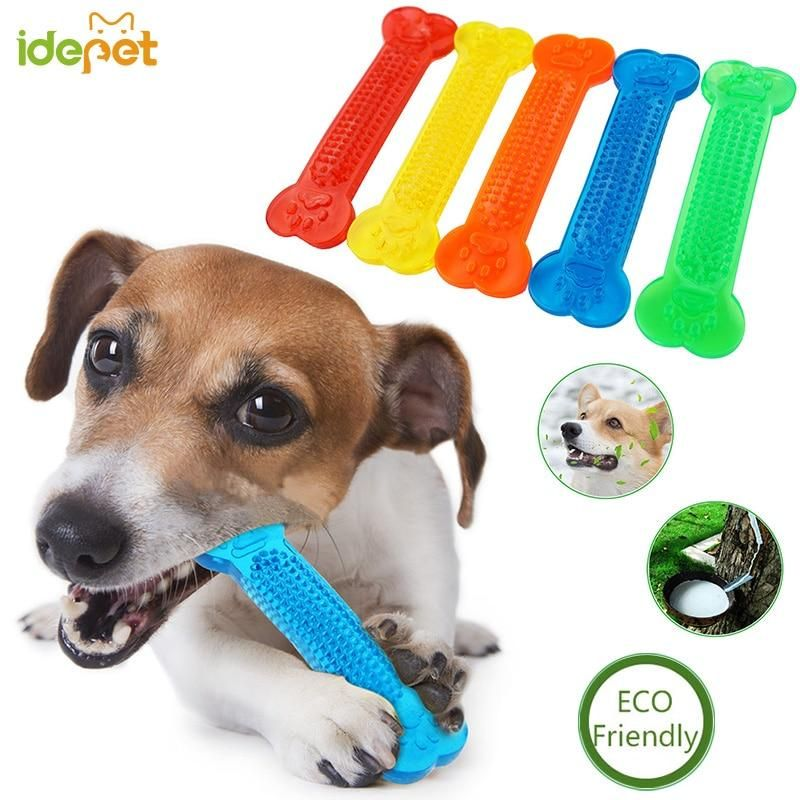 Dog Toys Pet Molar Tooth Cleaner Brushing Stick Trainging Dog Chew
