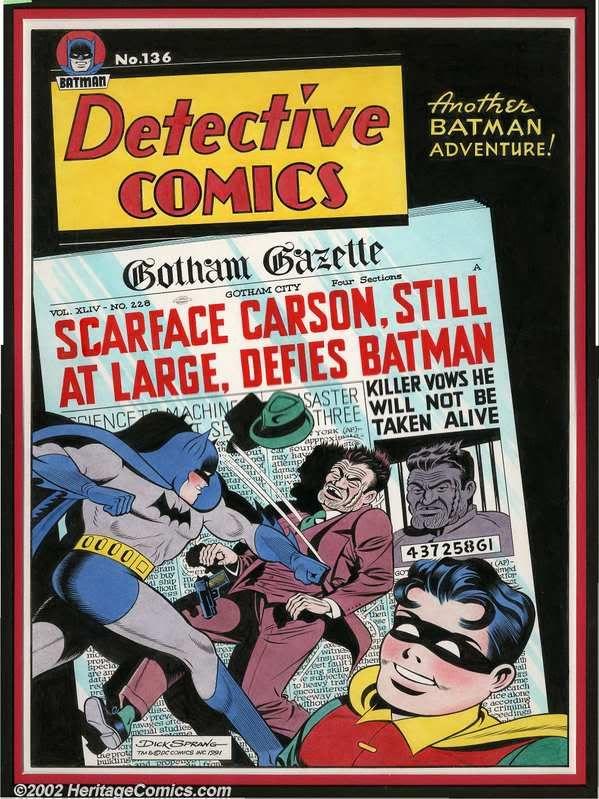 Kuvahaun tulos haulle Detective Comics # 136