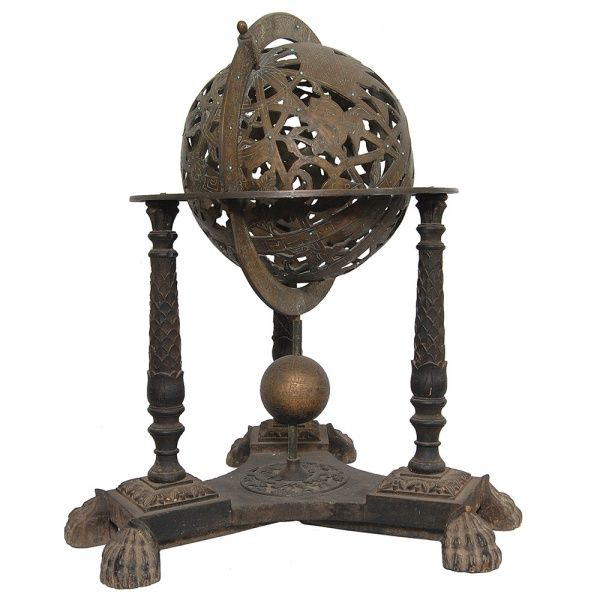 Astrolábio em bronze. Séc. XIX. 72 cm