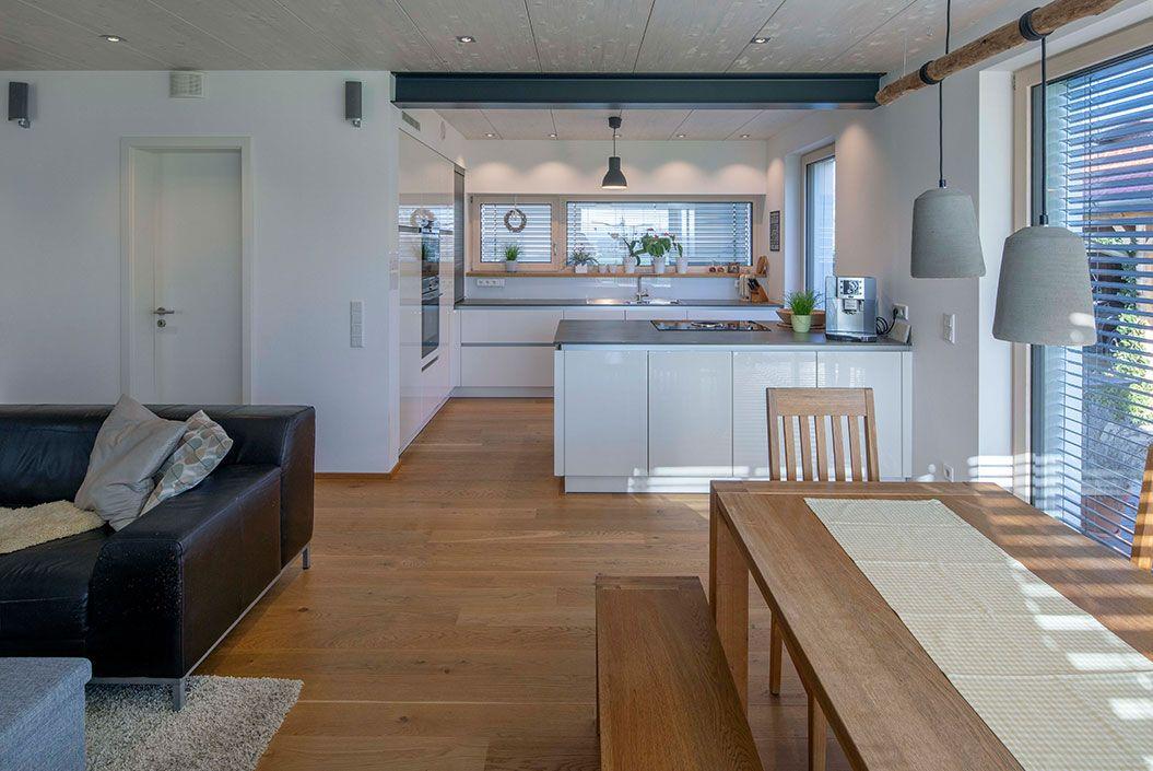 Offene Küche Tuntenhausen Passivhaus Wohnen Pinterest Haus - offene kuche wohnzimmer grundriss