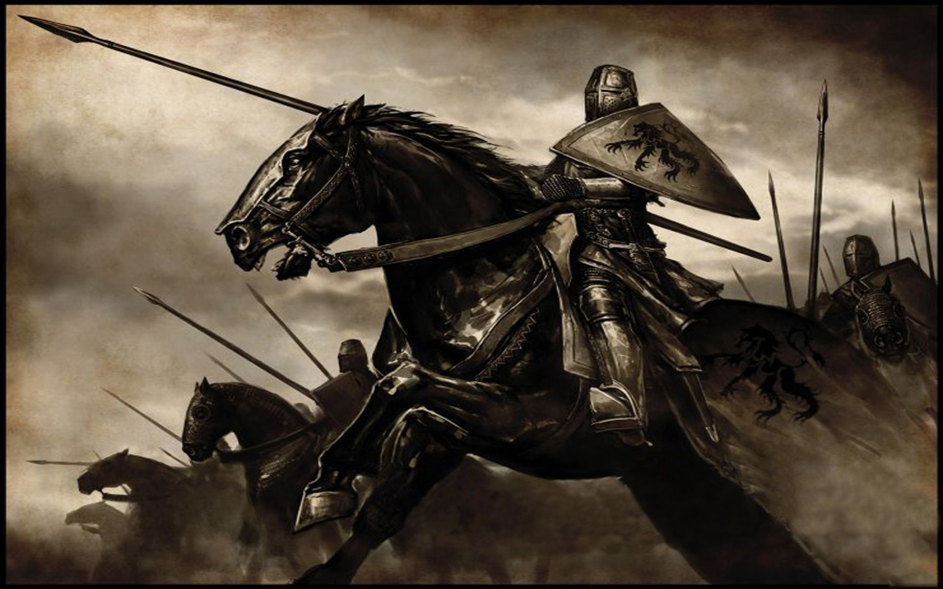 Mount And Blade Warband Wallpaper Medieval Knight Knight On