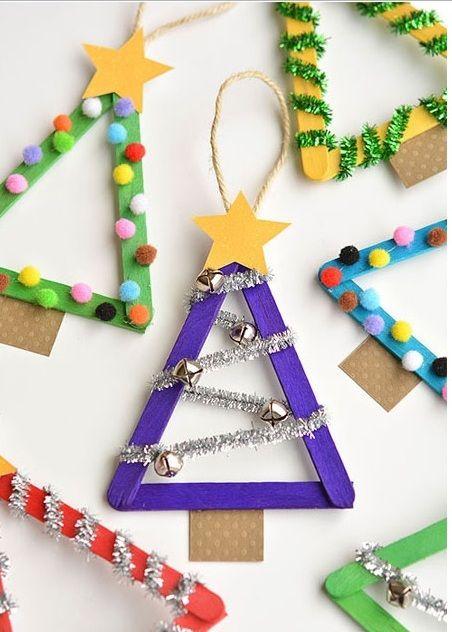 Pin de Kath Dunn-Mines en Christmas Crafts for Kids Pinterest