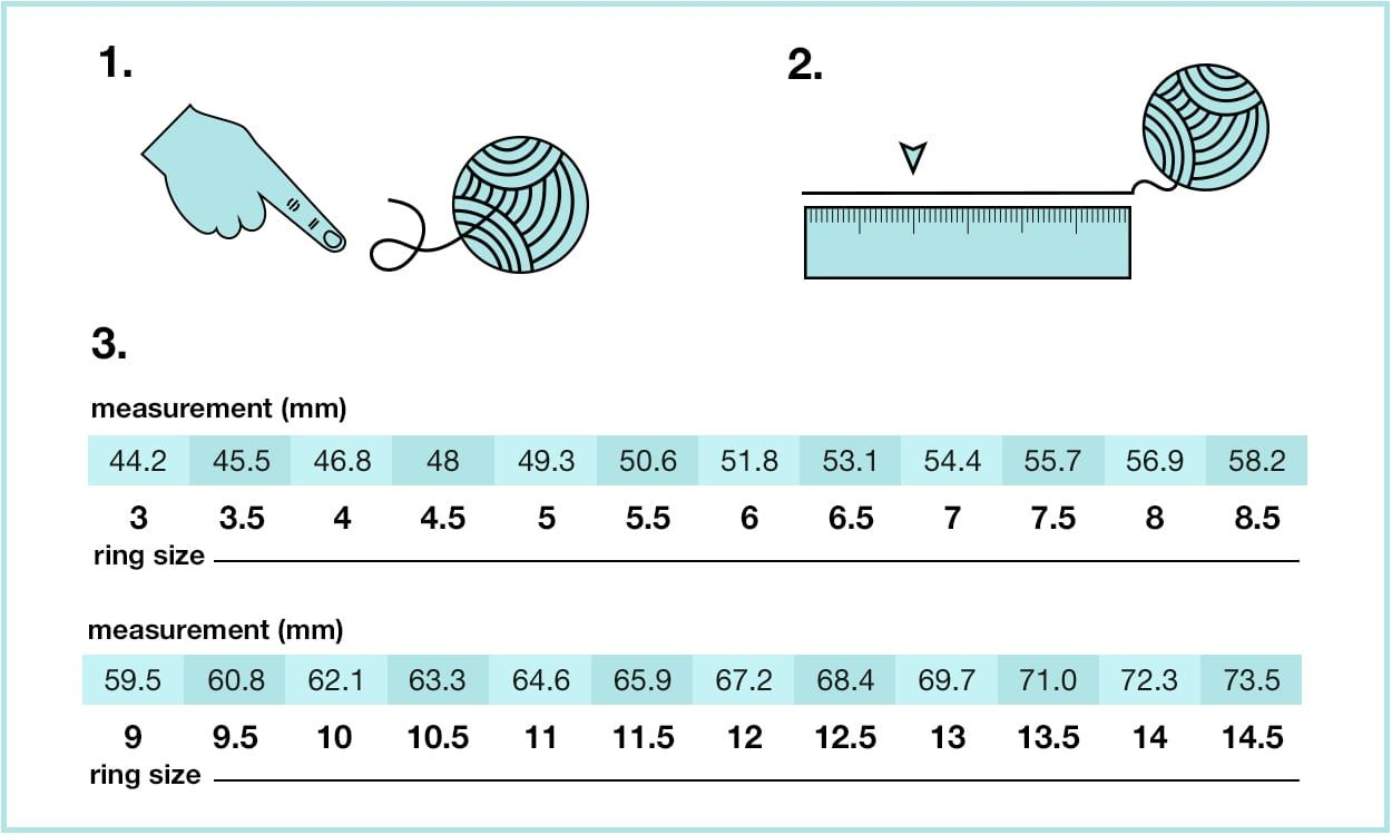 How to Measure Ring Size at Home in 3 Different Ways
