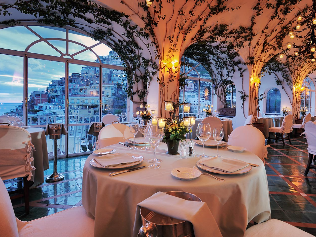 World's prettiest restaurants Positano, Italy holidays