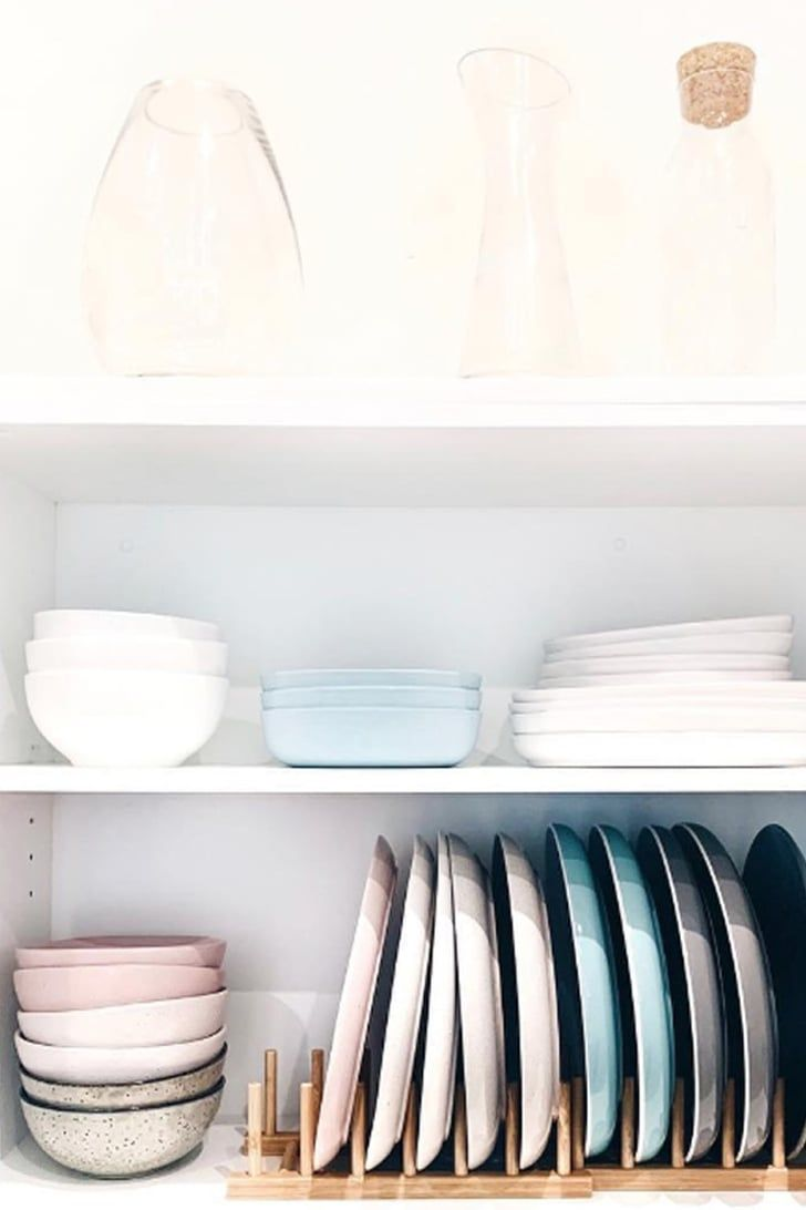 Are Your KonMari Senses Tingling? These Organized Kitchen Cabinets Are a Wonder to Behold