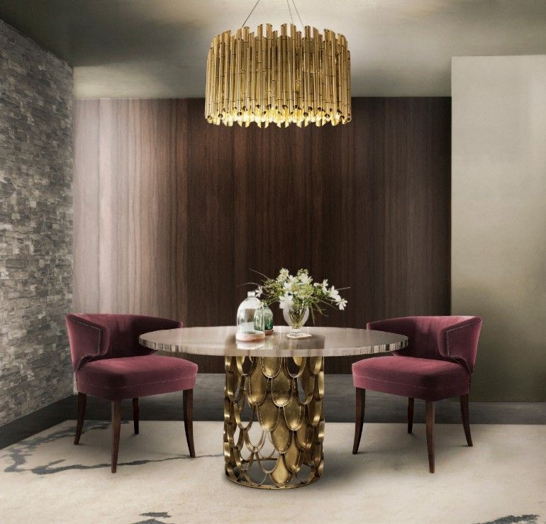 Top 7 Modern Velvet Dining Room Chairs Luxus-möbel, Esszimmer - moderne esszimmermobel design ideen