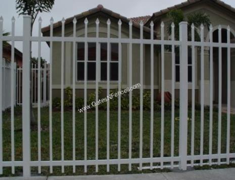 Picket Fences Designs Picket Fences Aluminum Picket Fences Steel Iron Aluminum Fence Fence Design Metal Fence