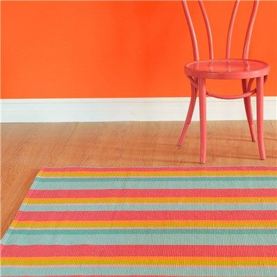 Dash Albert Tiki Stripe Cotton Rug Looking For Small Rugs In Front Of The Sink Stove