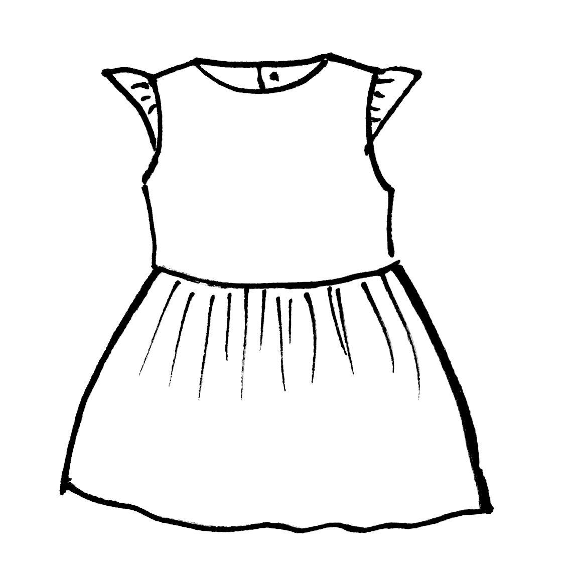 Gratis Patroon Grace Babykleding Patronen Meisjes Jurken Kinderkleding Patronen