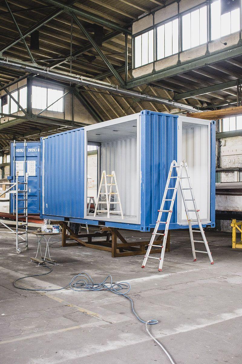 roadshowcontainer gegenbauer ein seecontainer aus der containermanufaktur containermanufa. Black Bedroom Furniture Sets. Home Design Ideas