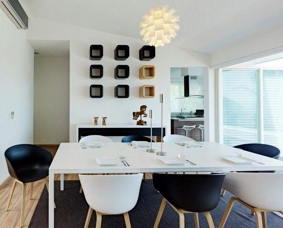 Casa Altavista de Excelencia en Diseño | Comedores modernos ...