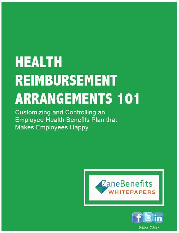 Health Reimbursement Arrangements, HRA 101 Whitepaper ...