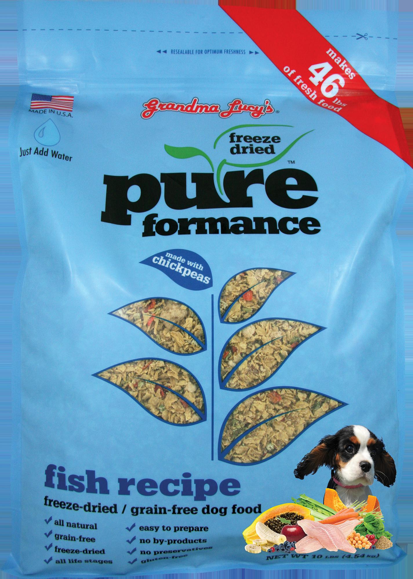Pureformance Fish Free Dog Food Grain Free Dog Food Dog Food Recipes