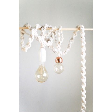There is not a place on earth that these giant rope lights won't brighten (and not just because they light up!) Tutorial on vintagerevivals.com!
