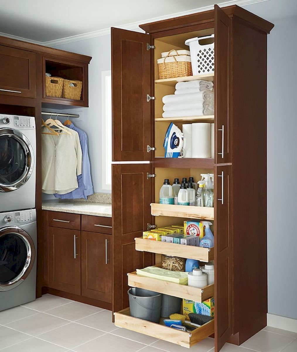 Diy Laundry Room Storage Shelves Ideas 71 With Images Diy