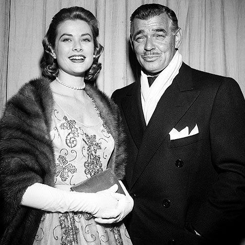 Image result for CLARK GABLE AND GRACE KELLY