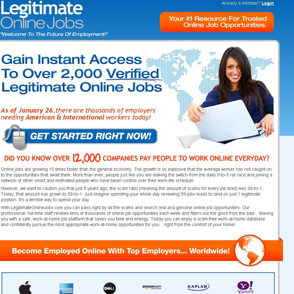 Pin by ScamXposer on Work From Home Scams To Be Wary Of ...