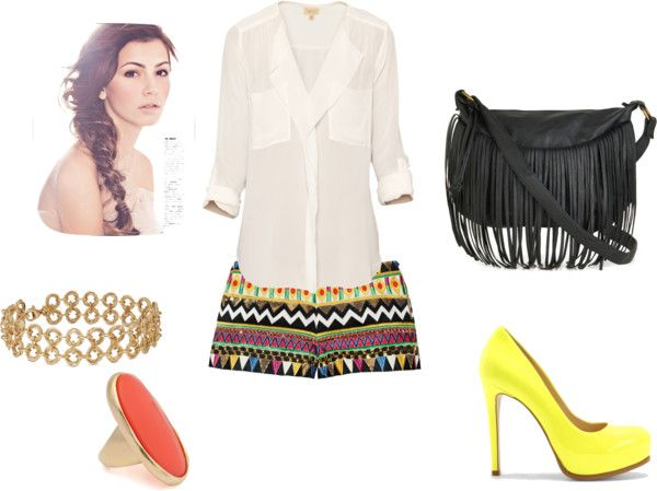 """""""tribal"""" by medboocd ❤ liked on Polyvore"""