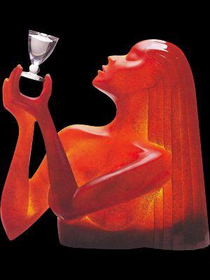 "Dan Dailey ""Le Vin: Cristallerie Daum (The Wine)"""
