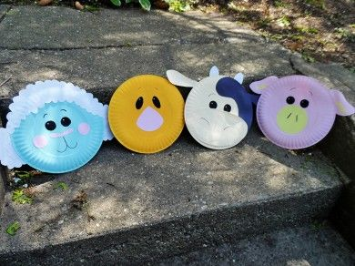 A little bit of paint and some construction paper can turn ordinary paper plates into these & Paper Plate Animal Craft | Paper plate animals Animal crafts and ...