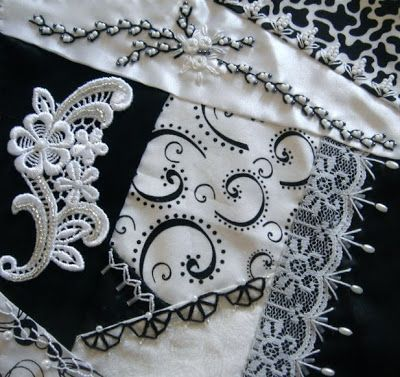 I crazy quilting & embroidery . . . Fabulous First-Timers