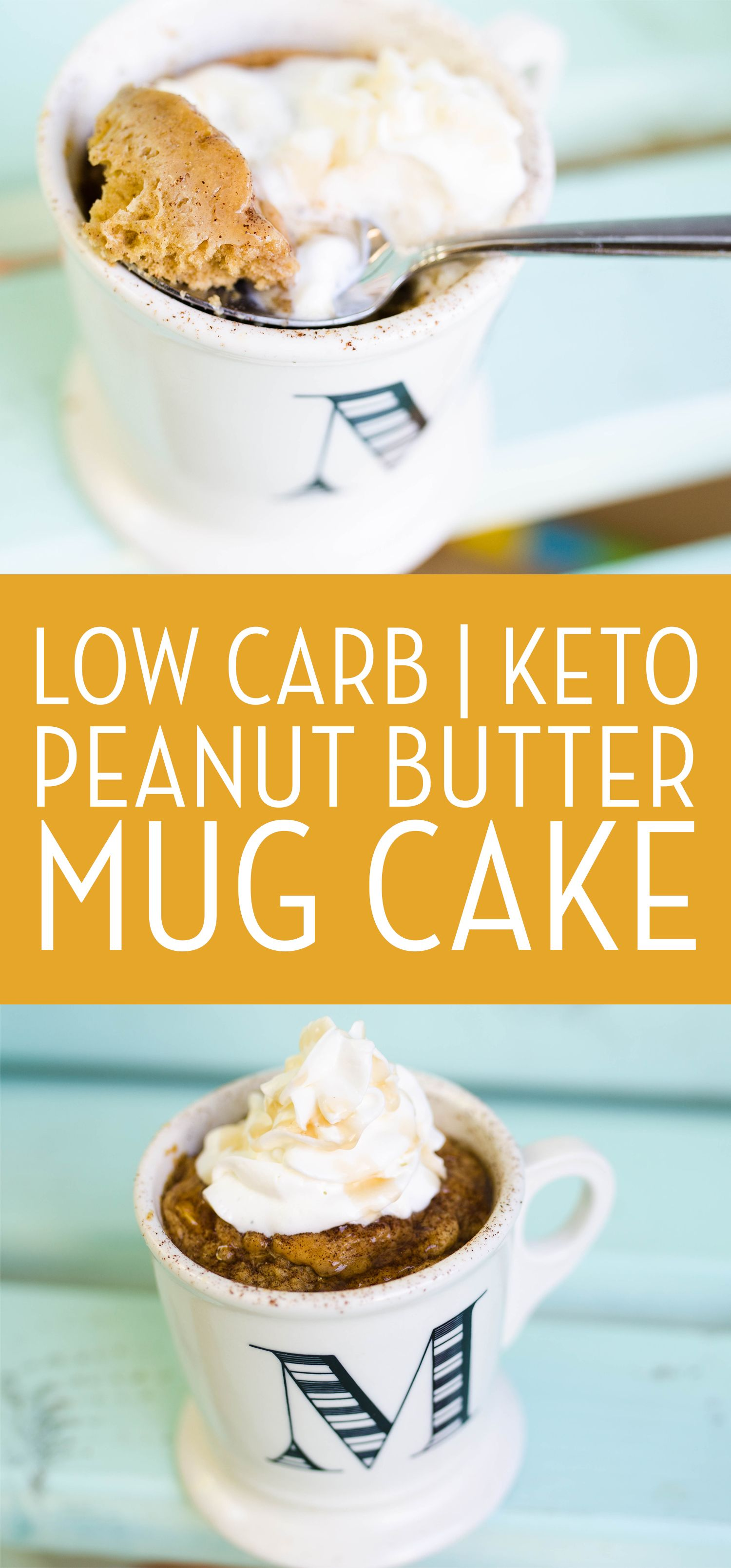 Keto Peanut Butter Mug Cake | Recipe | Peanut butter mug ...