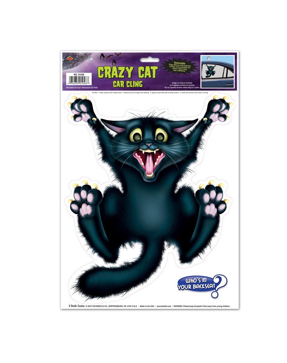 Cat Car Cling