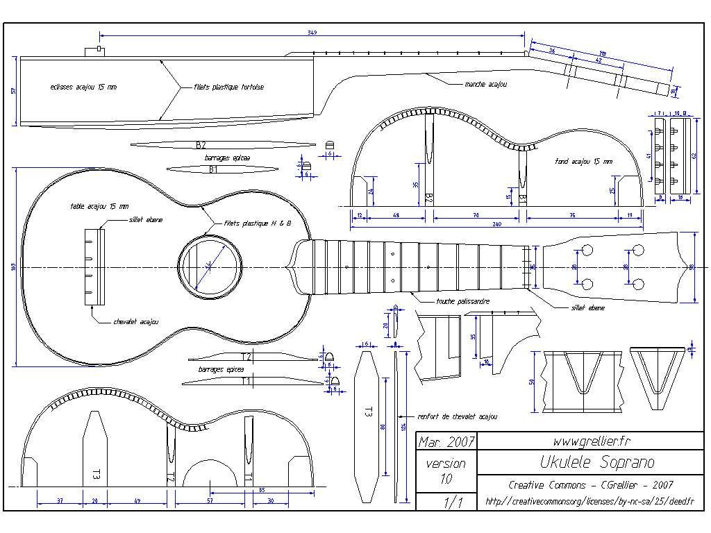 Free Mechanical Drawings 16 Free Musical Instrument