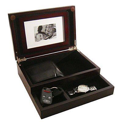 Dresser Valet with Picture Holder