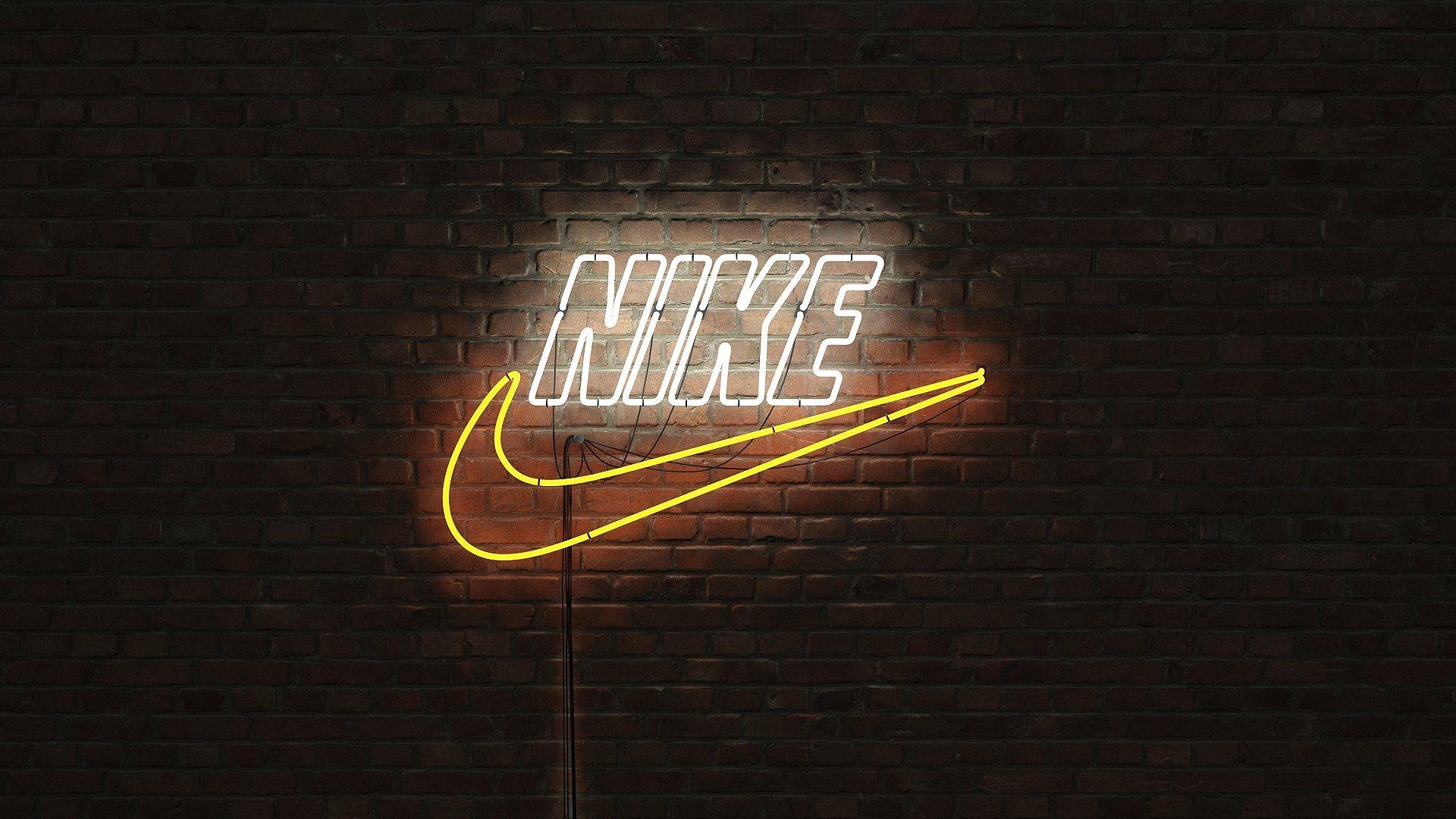Logo sign nike 3d Logo sign, Nike signs, Nike wallpaper
