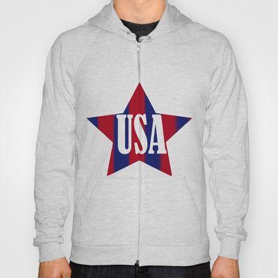 USA Hoody by Caio Trindade - $38.00