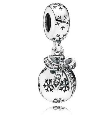 Dm Christbaumkugeln.Juwelierwaren Pandora Charm Anhänger Weihnachtsornament Silber Mit