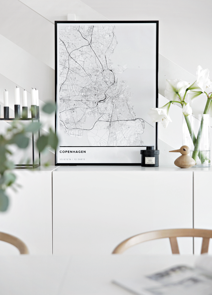 One Of Our Favorite Map Posters Copenhagen