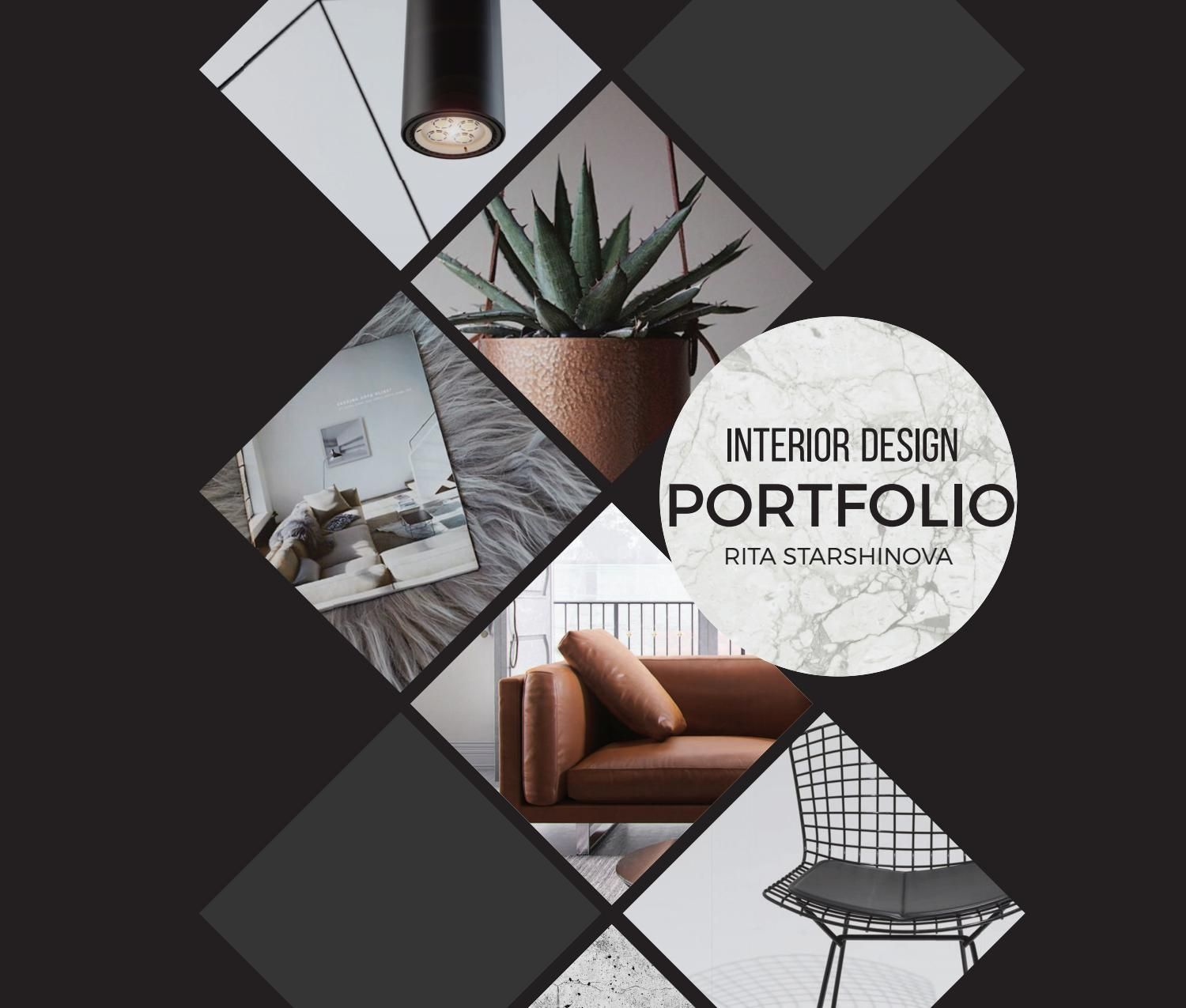 Rita starshinova portfolio interiors portfolio ideas for Interior design and decoration textbook