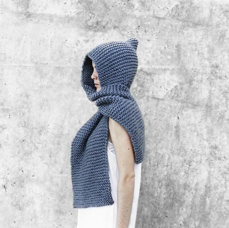 MA7 BUFANDA CAPUCHA | crochet | Pinterest