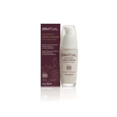 Handprint Hand Serum Is Formulated With Swiss Apple Stem Cells And Infused With Ginger Root Extract To Soften And Smooth Skin S Texture Pumpkin Fruit Extract T