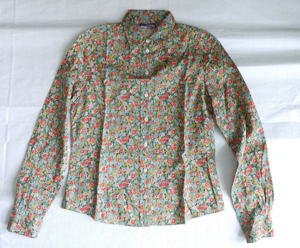 99c8de8f3a88f7 Details about CACHAREL Liberty of London Print Floral Shirt Blouse ...