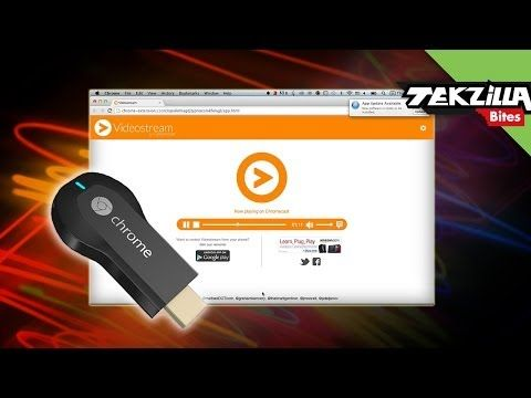 VideoStream for Google Chromecast Streams Any Video to the