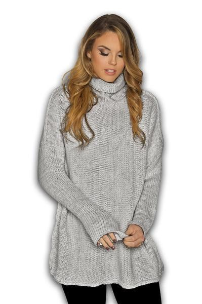 Knitted Cowl Neck Sweater-50% OFF TODAY | Military, Shopping and ...